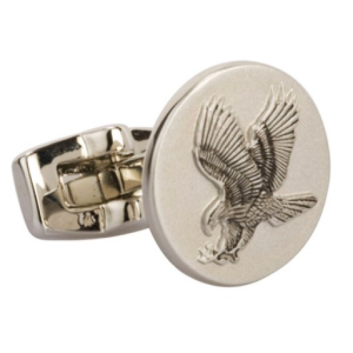 Design Your Own Classical Embossing Metal Custom Cufflinks
