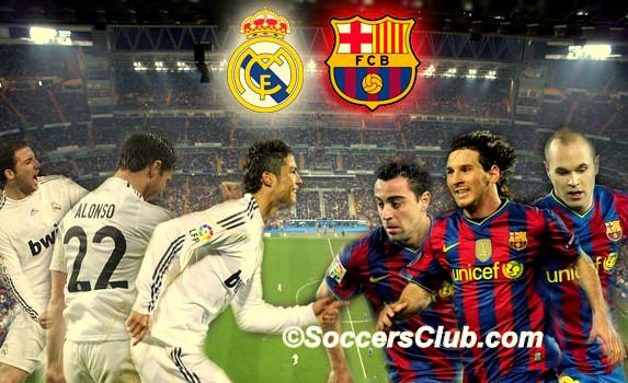 real madrid vs barcelona live