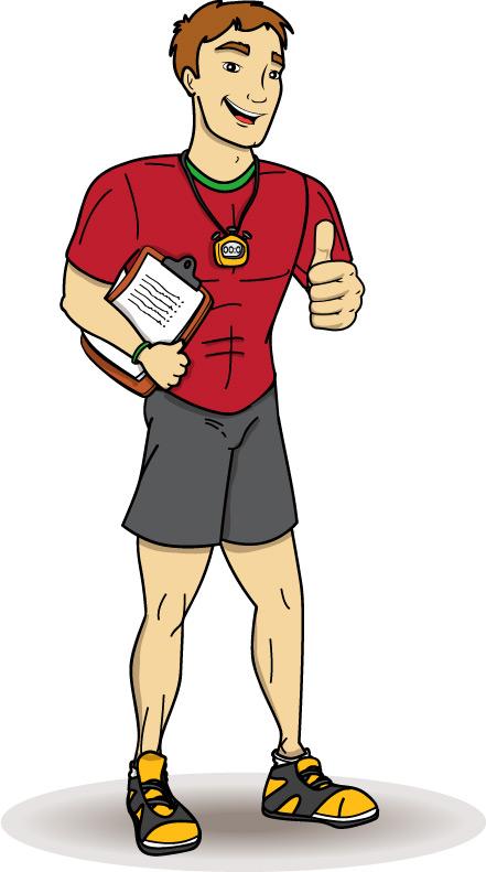 Gym Teacher Clip Art Imgkid
