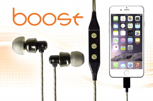 DAC Technology Introduces Boost: The World's Most Portable Fully Digital Earphone