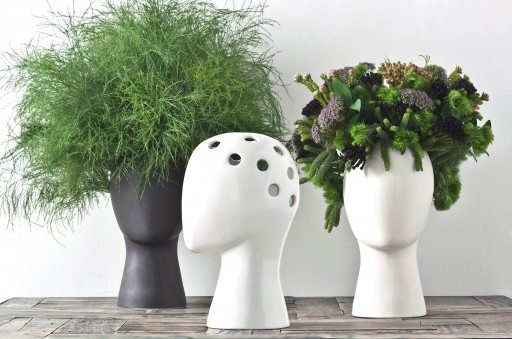 Design Meets Whimsy in the Wig Vase
