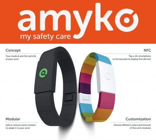 Amyko Propels Medical Alert Bracelets Into the Modern Era