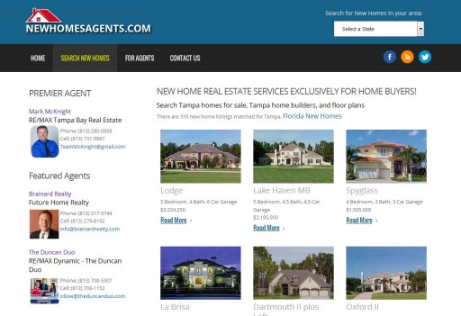 NewHomesAgents.com to Showcase Top Real Estate Agents
