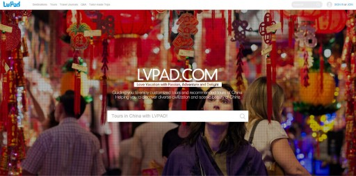 Lvpad.com May Be Changing the Hundreds of Billions of Dollars Market of Online Inbound Tourism of China