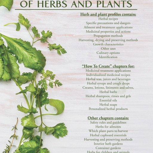 "Marla Purcelley's New Book ""Medicinal Properties of Herbs and Plants"" Is An Educated And Informative Compilation Of Nutritional And Herbal Health Data"