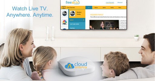 Watch and Record FREE HD channels anywhere and anytime with CloudAntenna