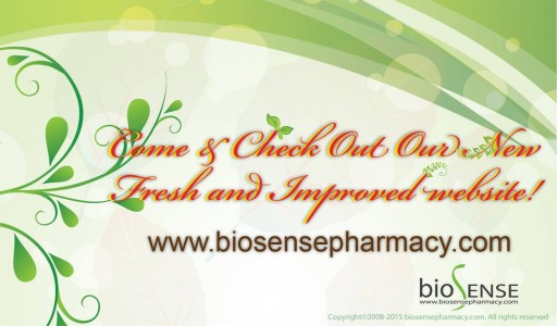 Biosense Pharmacy - A New Refreshed and Improved Website!