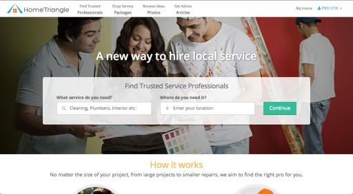 HomeTriangle Launches Local Service Marketplace in India