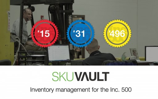 SkuVault Helps 12% of the Inc. 500 Fastest-Growing Retail Companies in America Manage Their Inventory