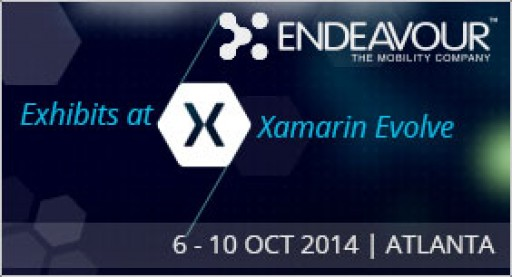 Endeavour-The Mobility Company Exhibits at Xamarin Evolve 2014