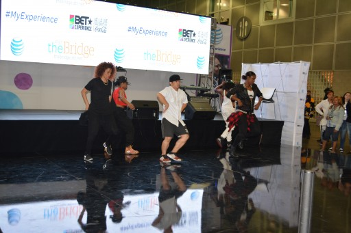 2015 BET FREE FAN FEST DANCE COMPETITION