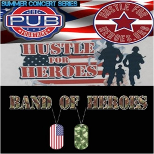 Upcoming Event for Hustle for Heroes/Band of Heroes Project - Supporting U.S. Veterans