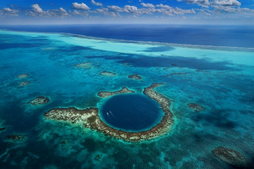 Belize's Blue Hole wins Conde Nast Traveler's 'Best Deep Holes in the World'