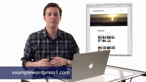 How to Use WordPress - Creating a Static Page