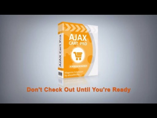 AJAX Cart Pro Magento Extension