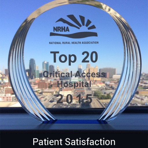 Cimarron Memorial Hospital Receives Award for Excellence in Patient Satisfaction