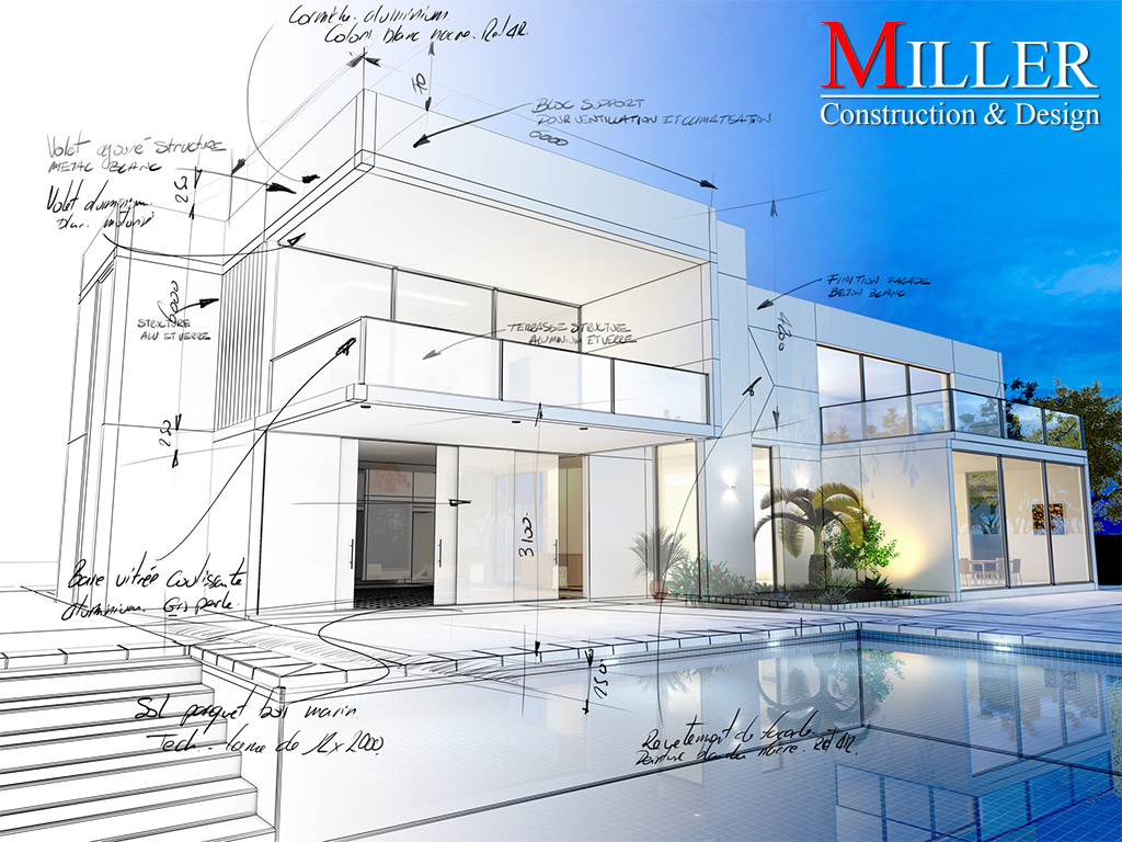Announcing the launch of miller construction design 39 s for New construction design