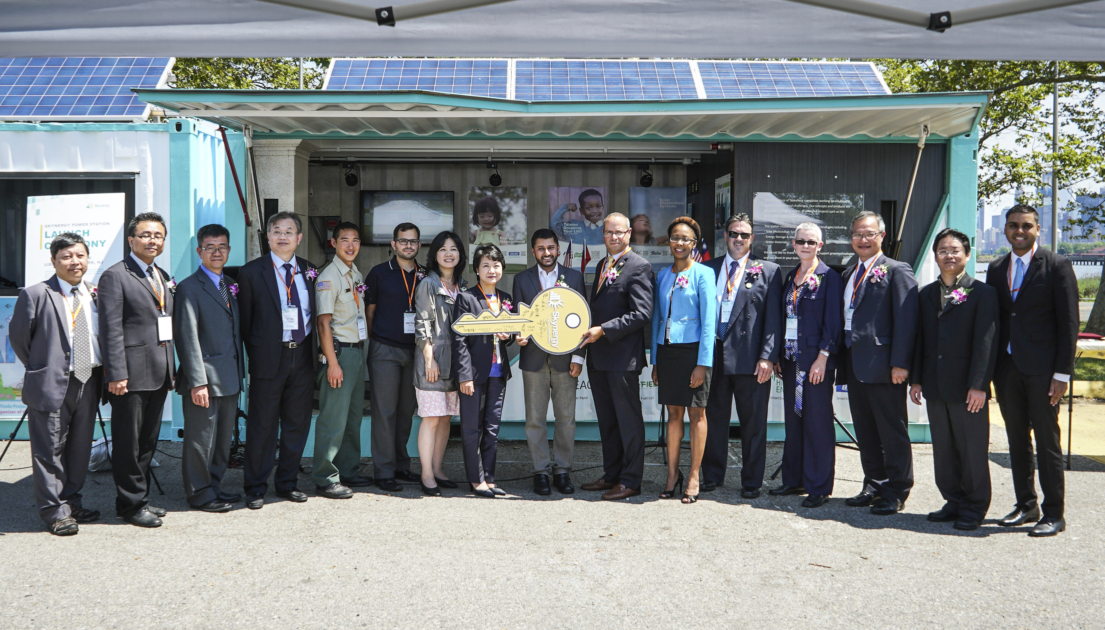 Taiwan Delivers Eco Power To Nj Liberty State Park