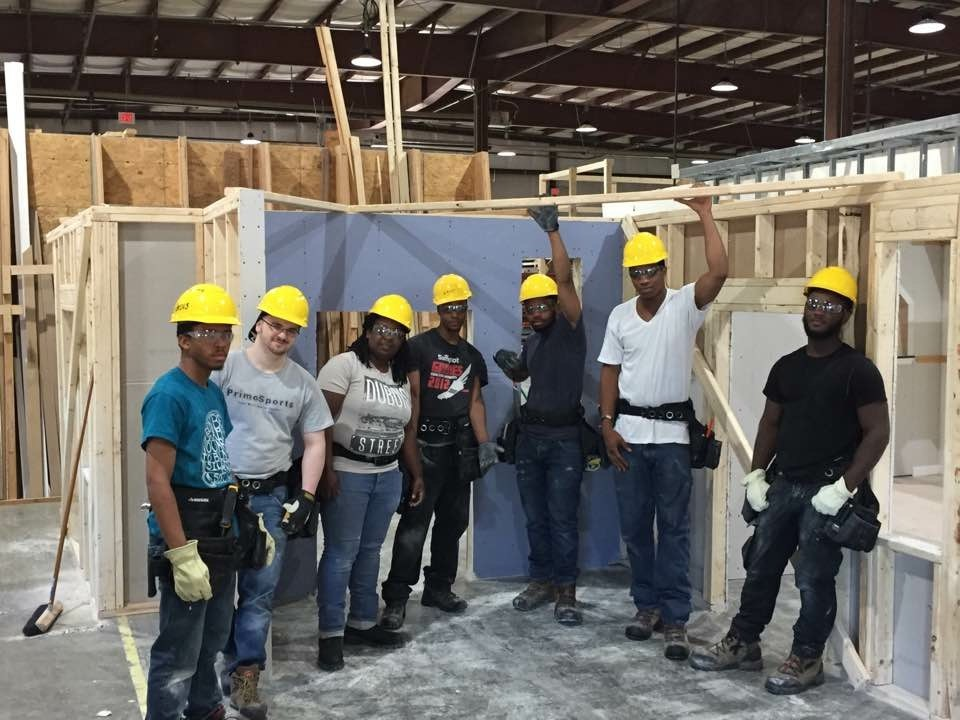 Disadvantaged youth find career and fulfillment in - Carpenter funds administrative office ...