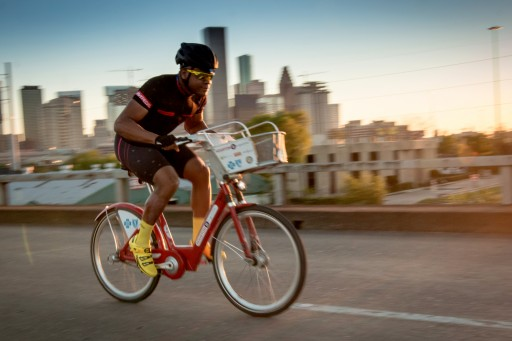"Cyclist Will Complete the 2016 BP MS 150 on a ""B-Cycle"""
