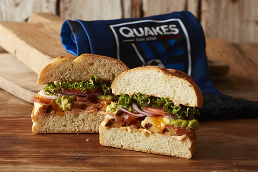 Erik's DeliCafé Launches Two (2) New Quakes Themed Sandwiches Titled Official Sandwiches of The San Jose Earthquakes