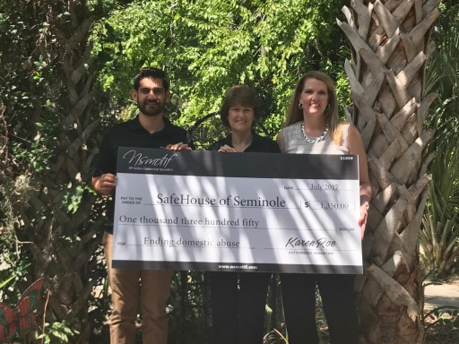 Florida Countertop Fabricator Makes Donation to  Safehouse of Seminole