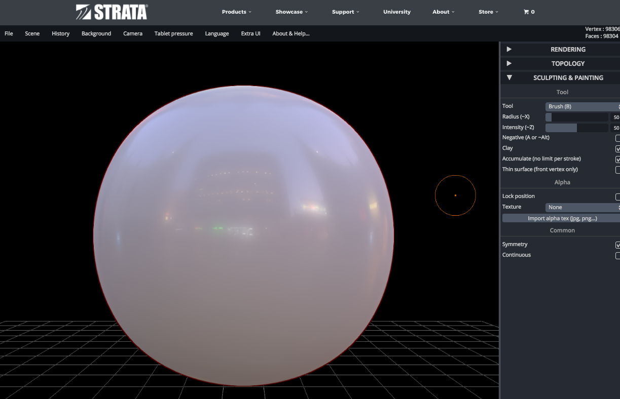 Strata launches the free web based design app 39 sculpt 3d Web based 3d modeling