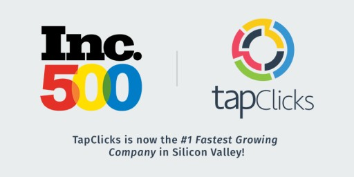 TapClicks Claims #1 Spot as the Fastest Growing Company in Silicon Valley