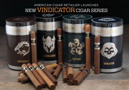 Famous Smoke Shop Launches New Vindicator Cigar Series