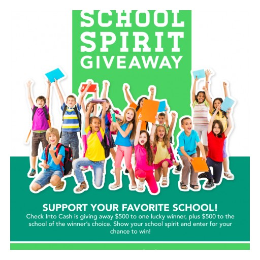 Win Cash for Yourself and the School of Your Choice With Our August Facebook Giveaway