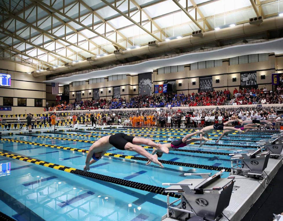 University Of Missouri Aquatics Center Converts To Led Lighting With Brilliant Results Newswire