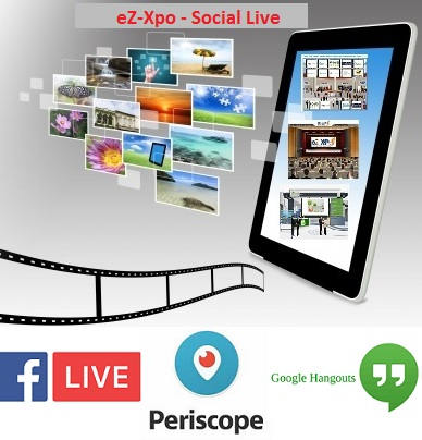 ez xpo announces social live for facebook live periscope google hangout for massive traffic. Black Bedroom Furniture Sets. Home Design Ideas