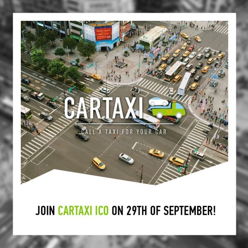 СarTaxi's ICO is Starting: Pre-Sale Investors Have Already Received Bonuses