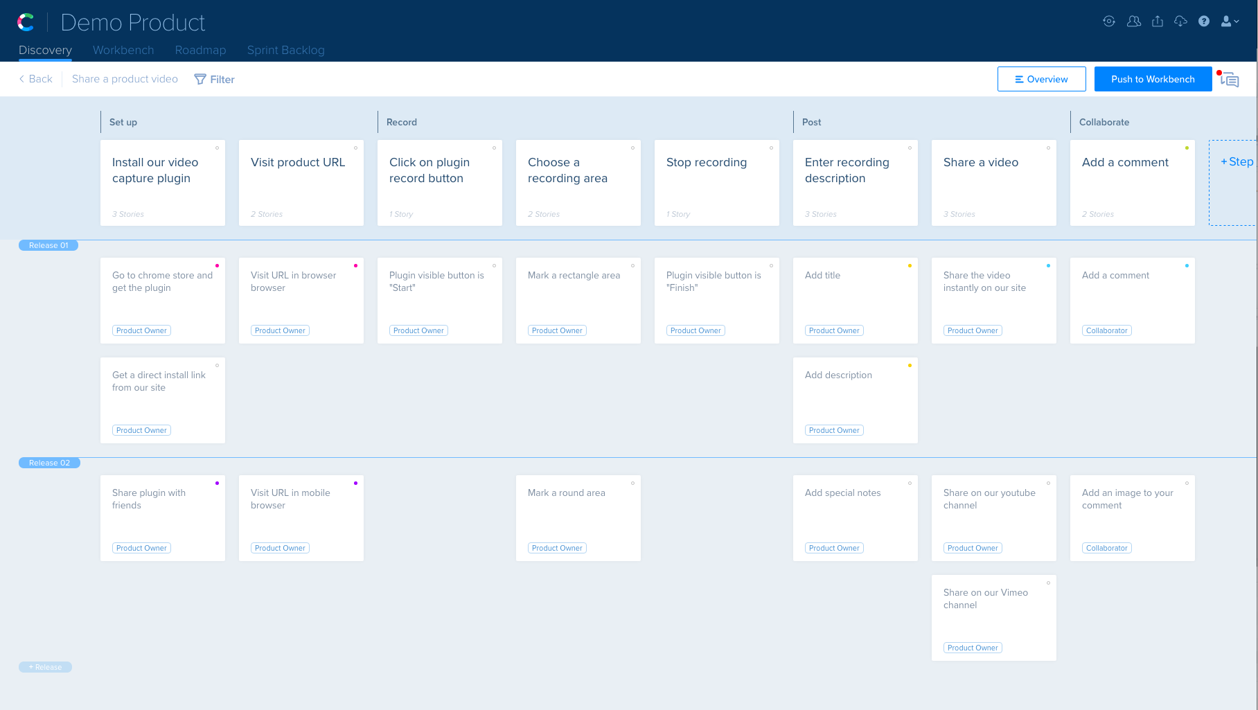 agile storyboard template - releases new agile story mapping feature newswire