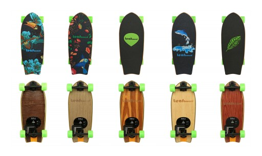 Leafboard Introduces the World's Lightest and Most Affordable Freestyle Electric Skateboard