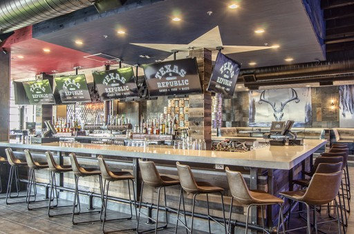 From Scratch Food, Nationally Touring Live Music, International DJs and 168 Sq. Ft. TV Make Up Texas Republic in Fort Worth's West 7th