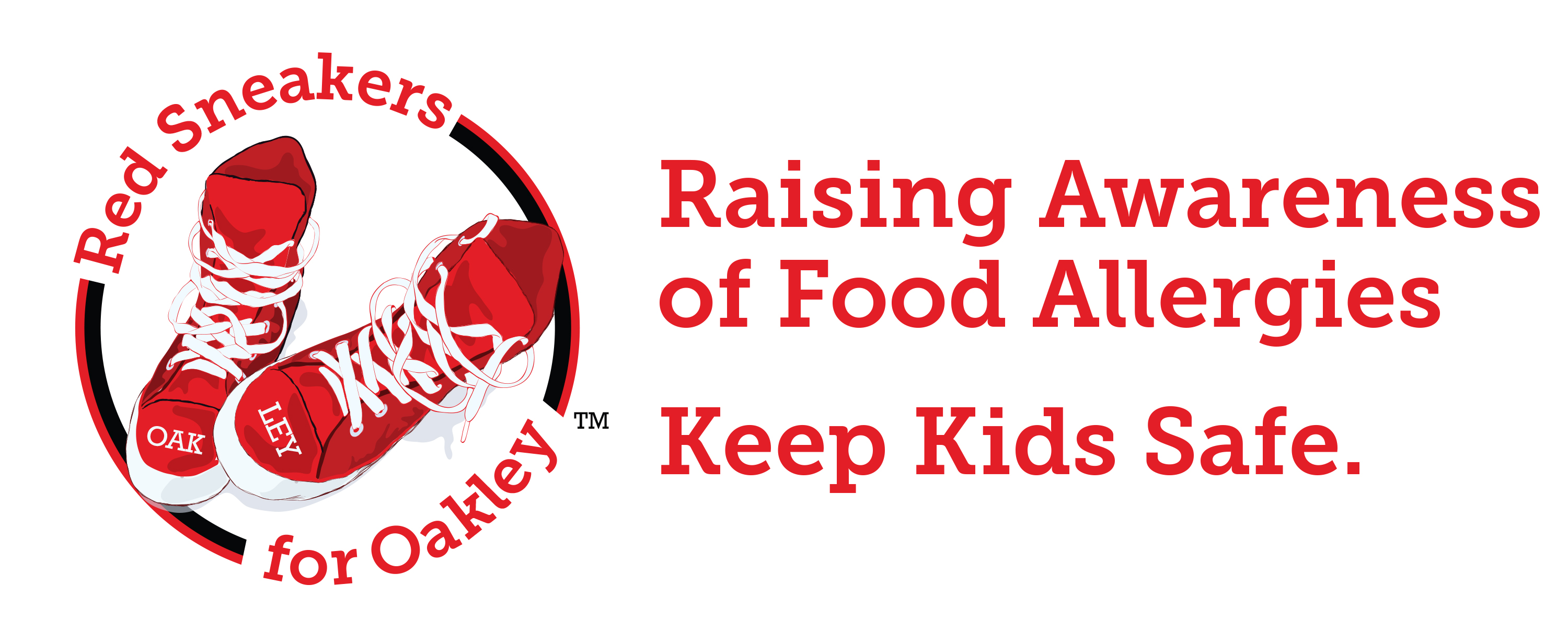 Red Sneakers for Oakley Launches Food Allergy Campaign to ... Raising Awareness