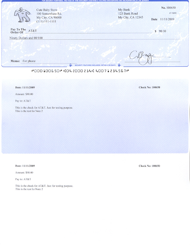 quickbooks check printing template