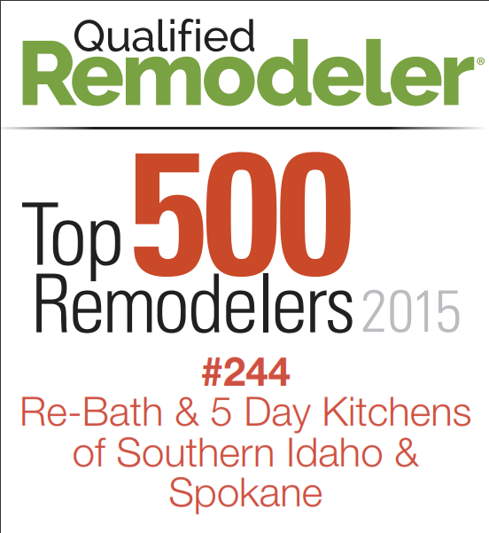 Idaho Bath Solutions Makes The 2015 Qualified Remodeler
