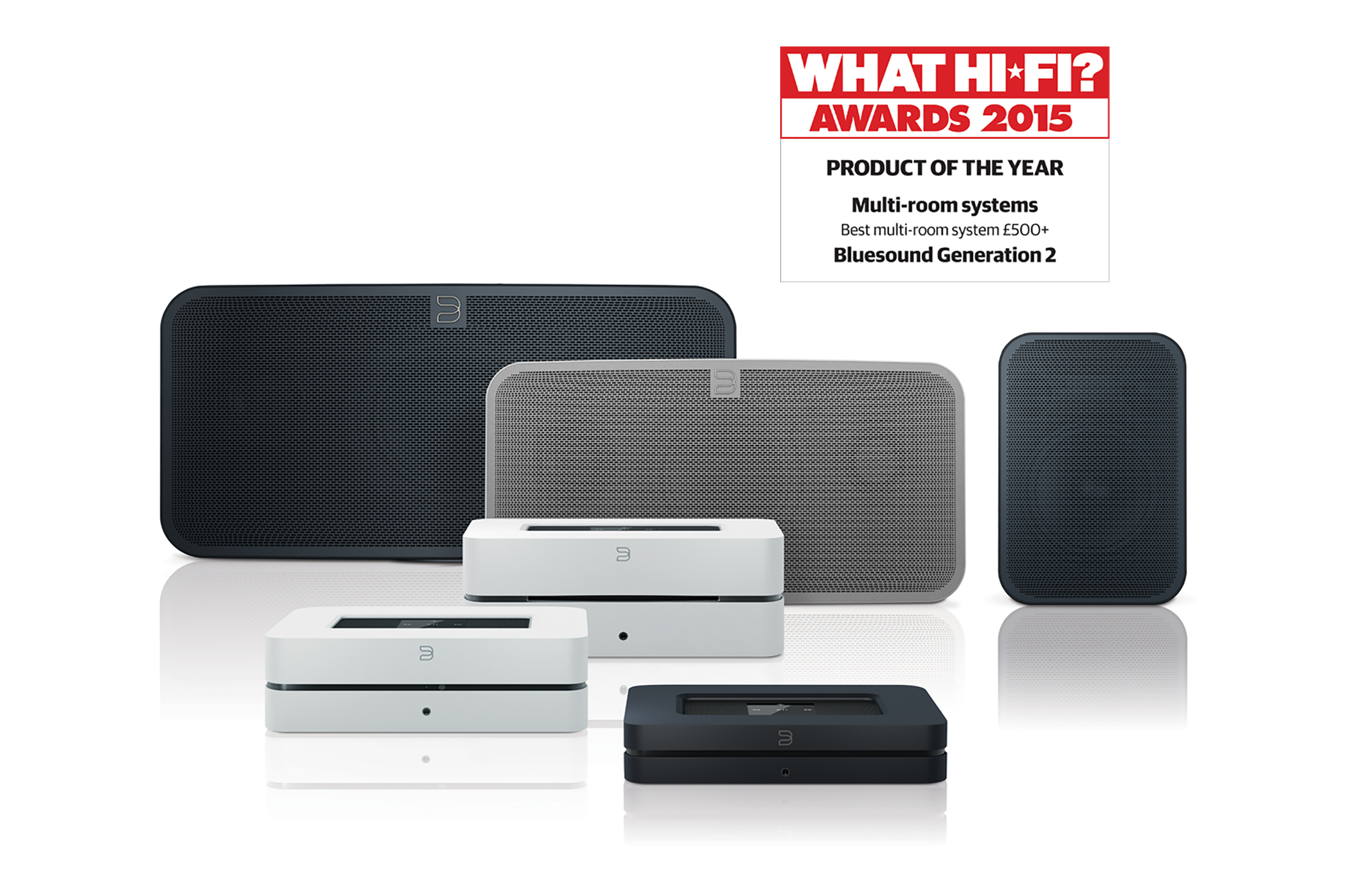 Image result for what hifi award bluesound