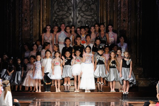 DKLTJU Enthralls at New York Fashion Week, Taking Children's Wear to Exciting New Vistas