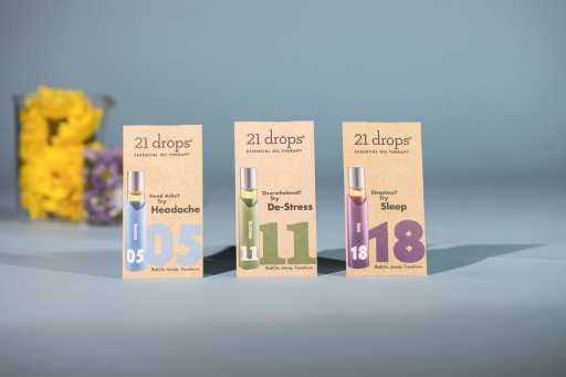 Spa of the Rockies' 21 Drops Aromatherapy Massage is Scentsational