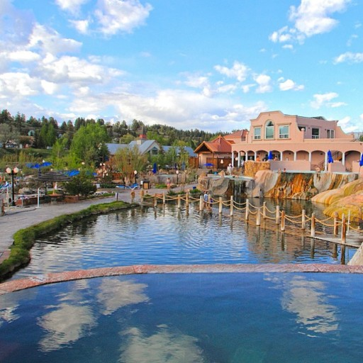 The Springs Resort and Spa, summer in Pagosa Springs