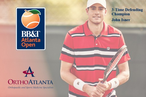 OrthoAtlanta an Official Partner of the 2016 BB&T Atlanta Open as Sports Medicine Provider