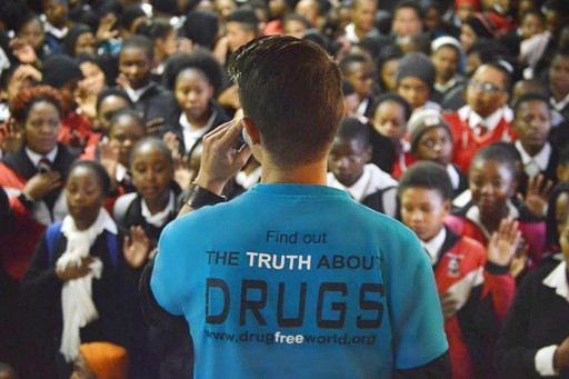 Drug-Free World Africa Launches #SportsAgainstDrugs Campaign