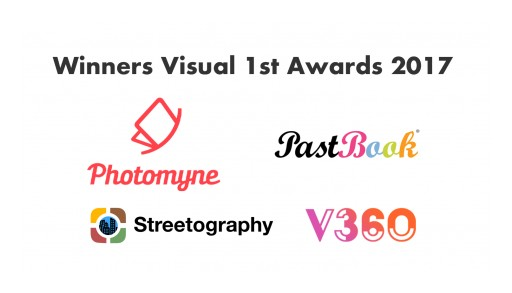 2017 Visual 1st Awards Go to Photomyne, PastBook, V360, and Streetography
