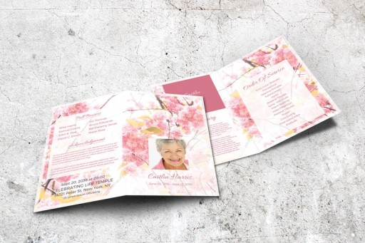 Final Tribute - Printable Funeral Programs and Memorial Service Templates