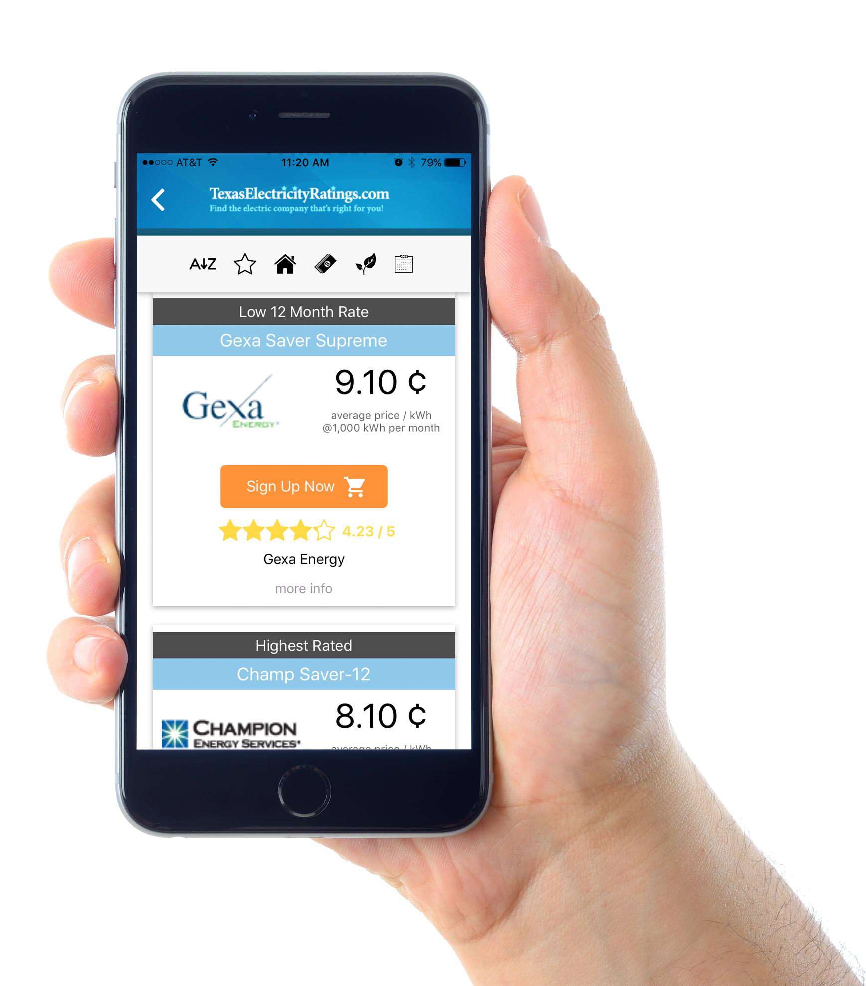 Texas Electricity Ratings Launches Mobile Shopping Apps ...