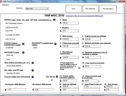 Tax Form Filing Is A Snap When Using EzW2 & 1099 Tax Preparation ...