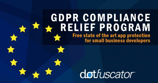 PreEmptive Solutions Launches GDPR Compliance Relief Program